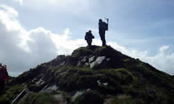 Sliabh Liag walkers south west donegal